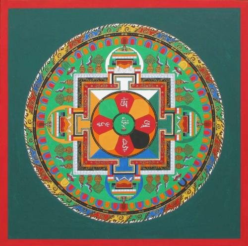 01-Mandala of Buda of Compassion