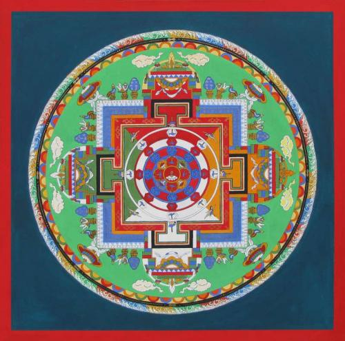 02-Mandala of Heruka Chakrasamvara with 62 deities