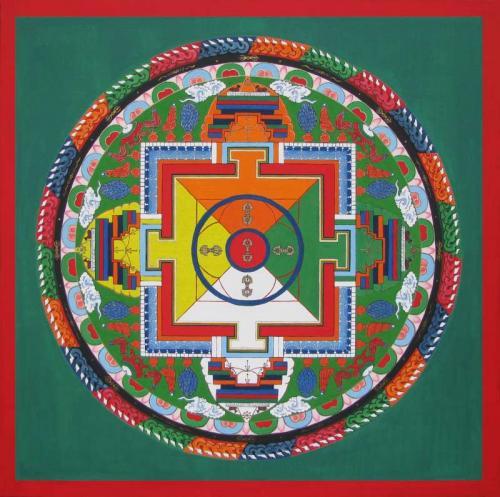 05-Mandala with Thunderbolts