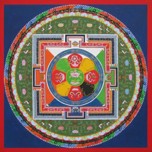 06-Mandala of Lord Chenrezig