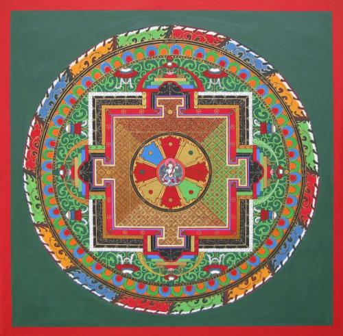 07-Mandala of Compassion with 17 deities